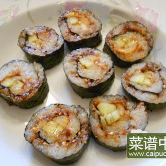 韩式青瓜肉松紫菜包饭