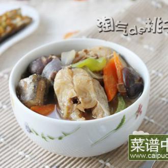 韩鲜明太鱼酱汤