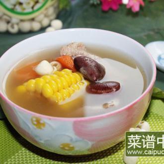 荷叶瘦肉汤