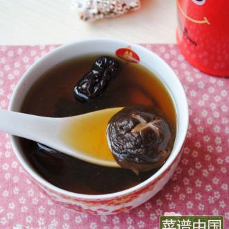 大枣香菇汤
