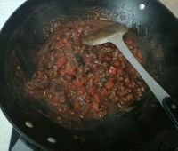香菇肉酱拌面的做法步骤8