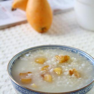 枇杷二米粥