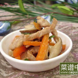 蚝油炒三丝