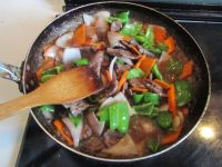 铁板牛肉的做法步骤10