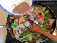 铁板牛肉的做法步骤9