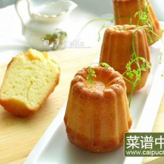 发酵鲜奶油小蛋糕