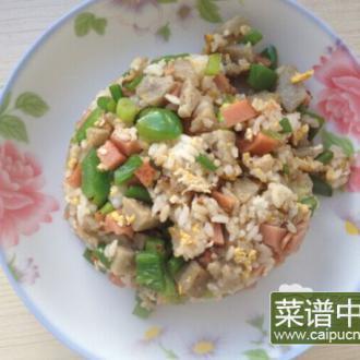 土豆饼什锦炒饭