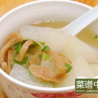 冬瓜菜脯汤