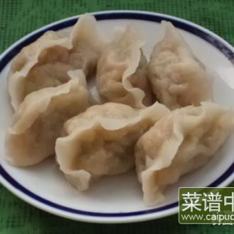 瓜皮鸡蛋果子水饺