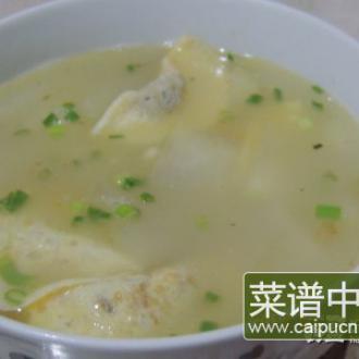 冬瓜蛋饺汤