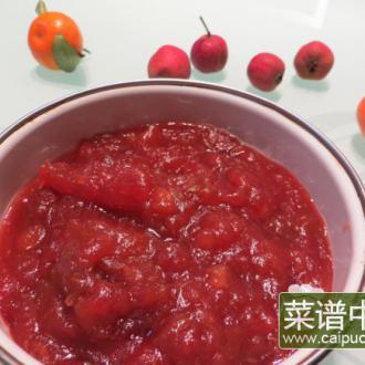 家庭版红果酱