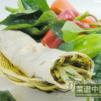 烙馍豆腐串