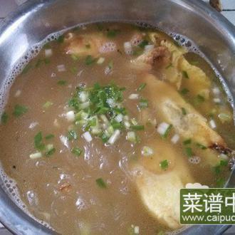 蛋饺粉丝汤