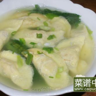 蛋饺蔬菜汤