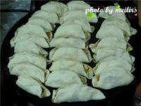虾皮南瓜锅贴的做法步骤19