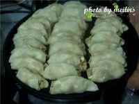 虾皮南瓜锅贴的做法步骤22