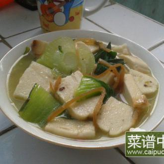 小白菜烩火烧