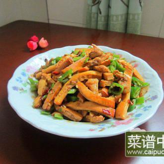 熏豆腐炒肉