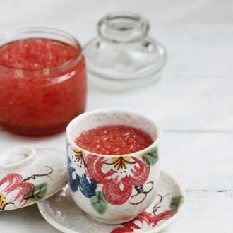 红心柚子茶