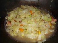 白菜炖粉条的做法步骤9