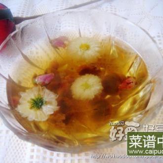 桂圆玫瑰花茶
