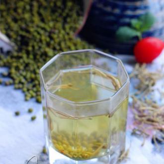绿豆金银花汤