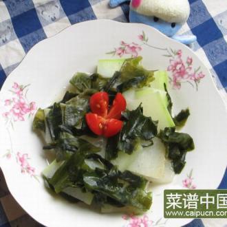 螺旋藻烧冬瓜