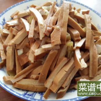 山椒香豆干
