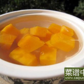 芒果凉粉冻