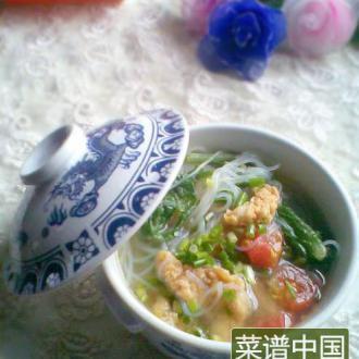 酥肉粉丝汤