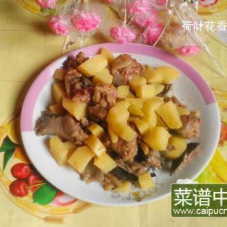 土豆炒水鱼