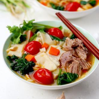 新疆羊肉汤饭
