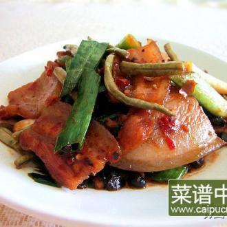 酸豇豆回锅肉