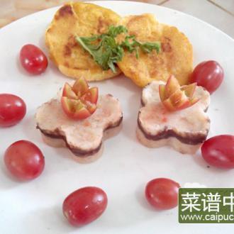 胡萝卜土豆玉米饼