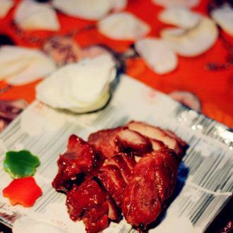 蒜香叉烧肉