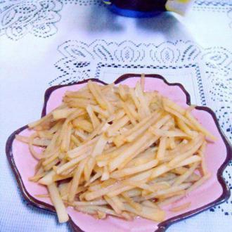 蒜泥土豆丝