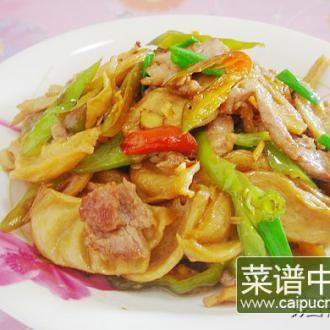 辣椒豆筋炒肉