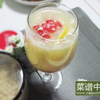 香梨石榴汁