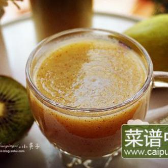 猕猴桃香梨汁