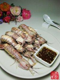 蒸皮皮虾的做法步骤6