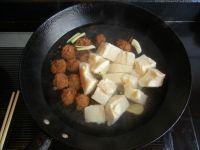 肉丸子炖冻豆腐的做法步骤4