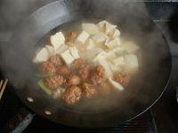 肉丸子炖冻豆腐的做法步骤5