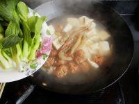 肉丸子炖冻豆腐的做法步骤7