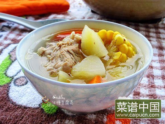 美味的朋友#红萝卜玉米雪莲果猪骨汤