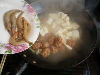 肉丸子炖冻豆腐的做法步骤6