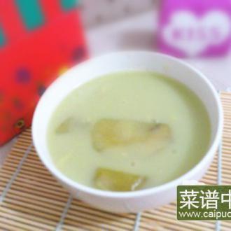 雪莲果玉米粥