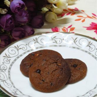 摩卡巧克力甜饼