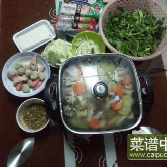 蟹煲鸡火锅
