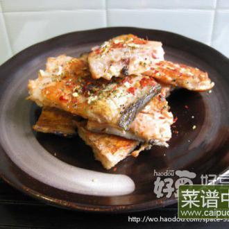 干煎三文鱼排