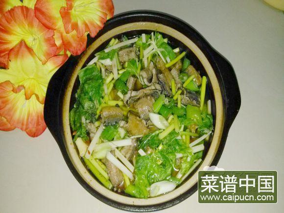 砂锅鳝鱼煲